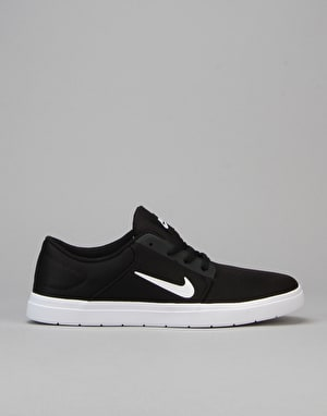 Nike SB Portmore Ultralight Renew Skate Shoes - Black/White-Anthracite