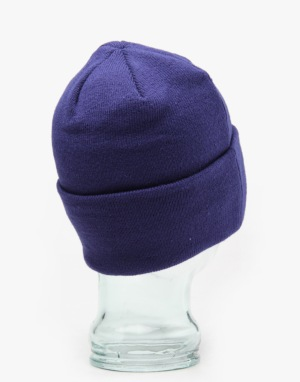 New Era MLB Los Angeles Dodgers Lic Over Cuff Beanie - Blue