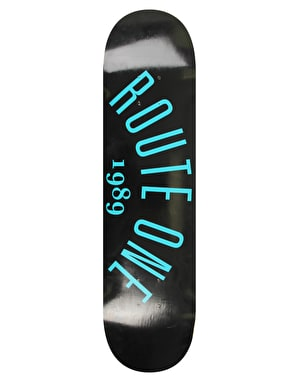 Route One Arch Logo Skateboard Deck - 8.25
