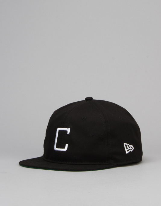 New Era MLB Chicago White Sox Vintage 9Twenty Snapback Cap - Black