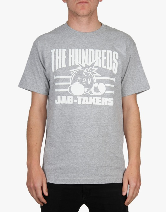 The Hundreds Jabs T-Shirt - Athletic Heather