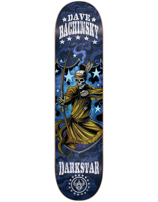 Darkstar Bachinsky Combat Skateboard Deck - 7.75""