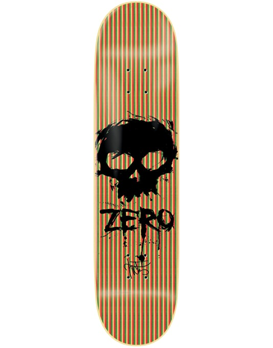 Zero Cervantes Blood Skull V-Ply Pro Deck - 8.375""