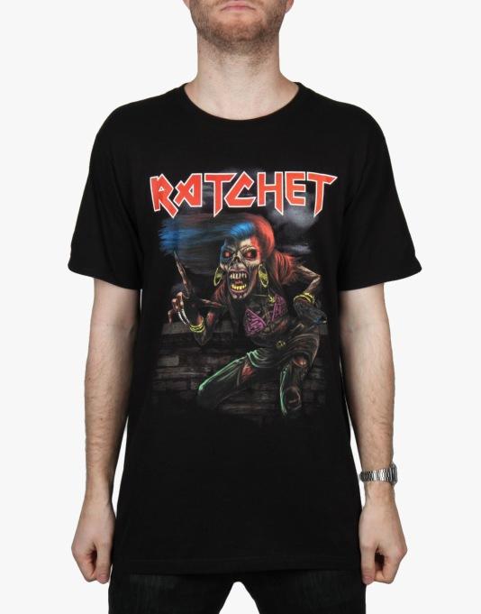 HUF Ratchet Tour T-Shirt - Black