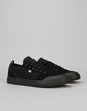 DC Evan Smith Skate Shoes - Black/Black/Gum