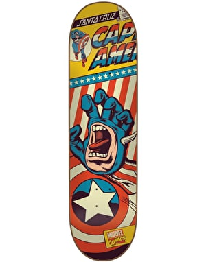 Santa Cruz x Marvel Captain America Hand Team Deck - 8.26