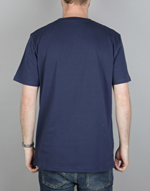 Carhartt Shore S/S T-Shirt - Blue/White/Black