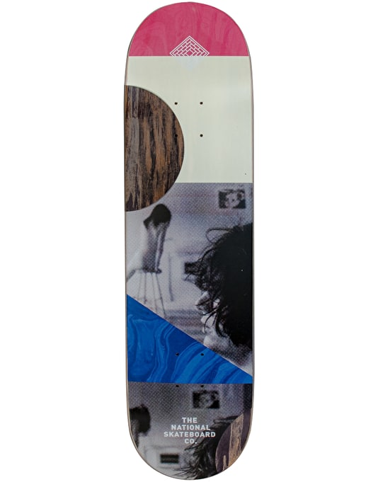 The National Skateboard Co. -SB- Team Deck - 8.375""