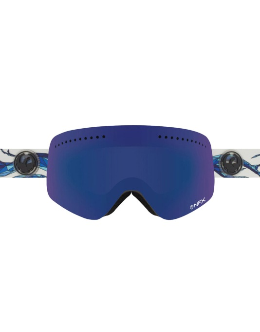 Dragon NFX 2016 Snowboard Goggles - Form/Dark Smoke Blue