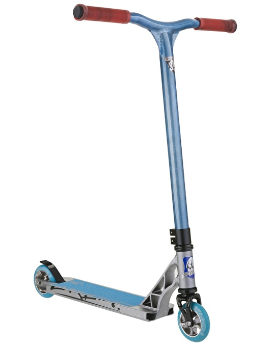 Grit Elite 2016 Scooter - Titanium/Raw Blue