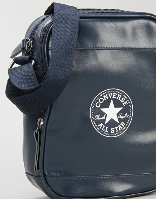Converse PU Cross Body Bag - Deep Navy