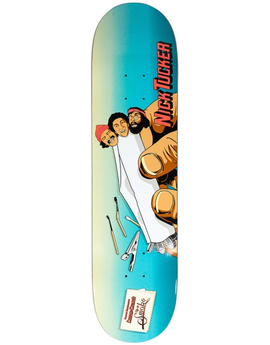 Primitive Skateboarding x Cheech & Chong Tucker Rollin' Pro Deck - 8""