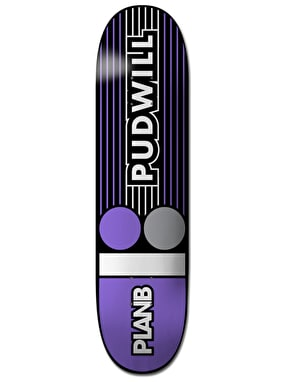 Plan B Pudwill Lines Pro.Spec Pro Deck - 8.25