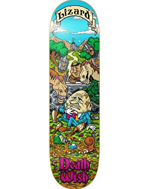 Deathwish Lizard King Story Time Pro Deck - 8.125