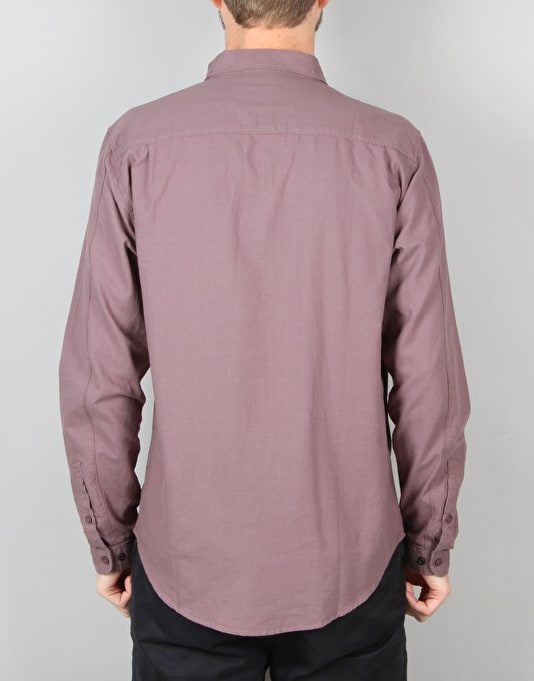 Globe Goodstock Oxford Shirt - Eggplant