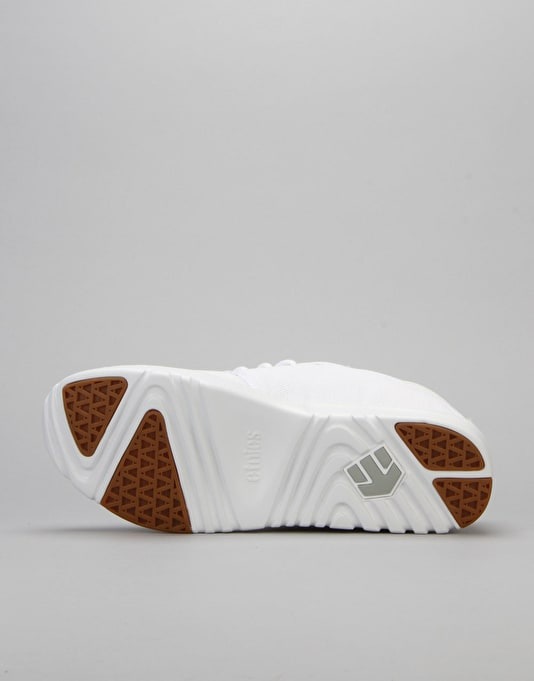 Etnies Scout Shoes - White/Gum