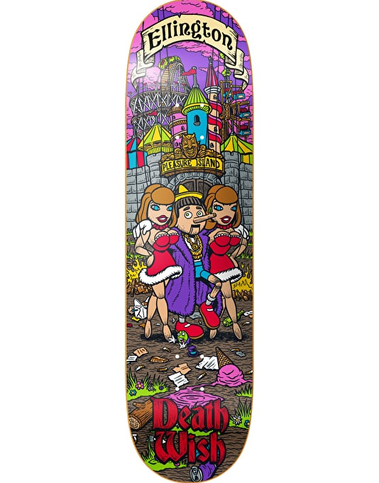 Deathwish Ellington Story Time Pro Deck - 8""