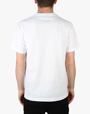 Pass Port No Service Pocket T-Shirt - White