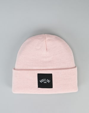 Route One Digital Beanie - Light Pink