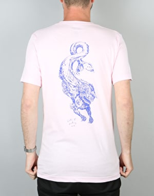 Welcome Cetus T-Shirt - Pink/White