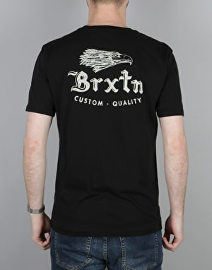 Brixton Flier Premium Pocket T-Shirt - Black