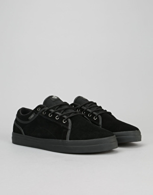 DVS Aversa Skate Shoes - Black/Black