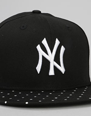 ... clearance new era 9fifty mlb new york yankees polka dot snapback cap  black f0030 a7ec3 f7f72acb5646