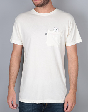 RIPNDIP Nermshroom Pocket T-Shirt - Natural