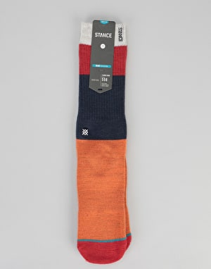 Stance Mastco Classic Crew Socks - Orange