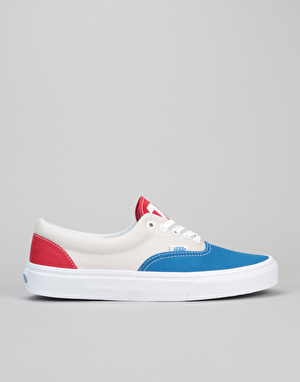 Vans Era Skate Shoes - (1966) Blue/Grey/Red