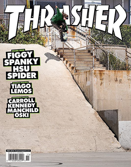 Thrasher Magazine Issue 436 November 2016