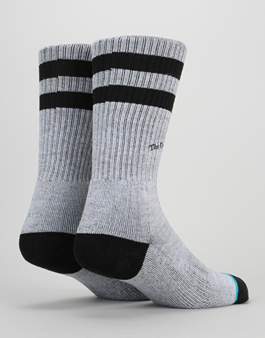 Stance Threads Classic Crew Socks - Grey