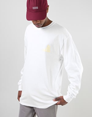 The Story Collective Coop L/S T-Shirt - White