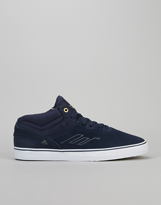 CHAUSSURES EMERICA WESTGATE MID VULC NAVY skateshoes 7D2zqj