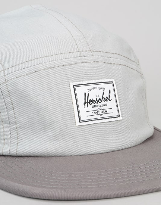 Herschel Supply Co. Glendale 5 Panel Cap - Wolf Grey/Grey