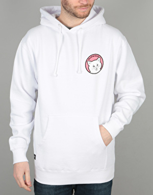 RIPNDIP Stop Being A Pussy Pullover Hoodie - White