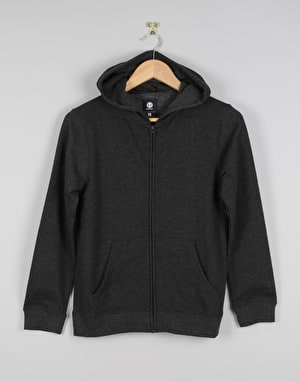 Element Classic Cornell Boys Zip Hoodie - Charcoal Heather