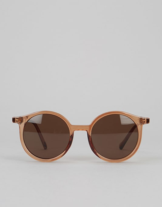 Glassy Robyn Sunglasses - Transparent Coffee