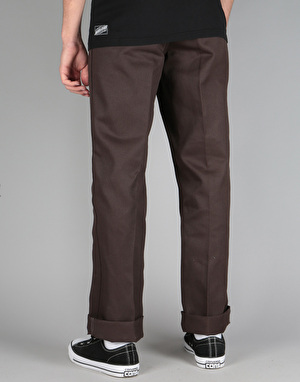 Ben Davis Trim Fit Work Pants - Brown