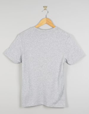 Vans OTW Checker Fill II Boys T-Shirt - Heather Grey/Grape Leaf