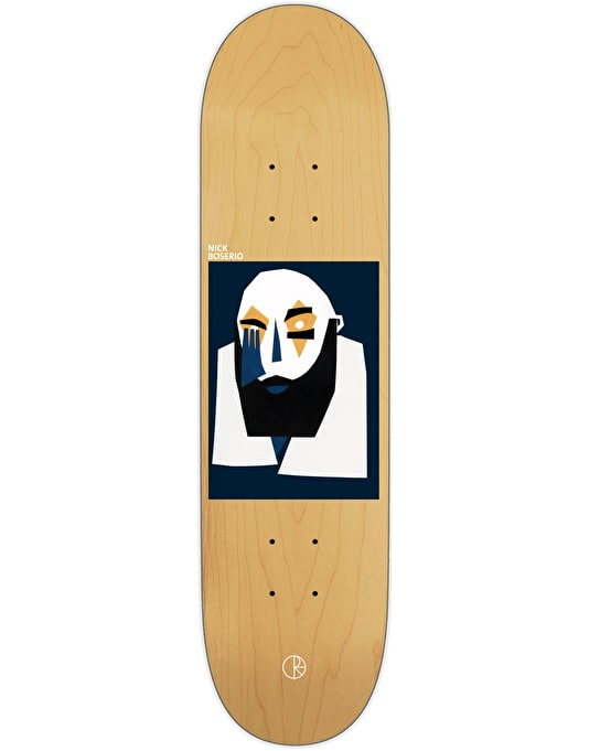 Polar Boserio Cut Out Portrait Skateboard Deck - 8""