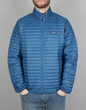 Patagonia Down Shirt Jacket - Big Sur Blue