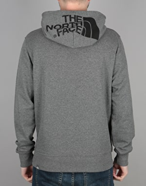 The North Face Seasonal Drew Peak Light Pullover Hoodie - Grey Heather