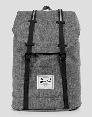 Herschel Supply Co. Retreat Backpack - Raven Crosshatch/Black