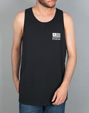 Emerica Pure Flag Tank - Black