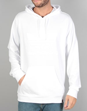 Adidas Climacool 3.0 Pullover Hoodie - White/White