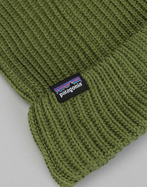 Patagonia Fisherman Rolled Beanie - Glades Green