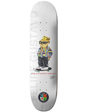 Grizzly x Plan B Felipe Pro Deck - 7.625