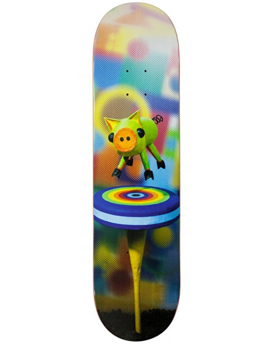 Alien Workshop Floating Pig Icon Series Skateboard Deck - 7.875""