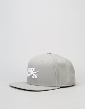 Nike SB Icon Snapback Cap - Dust/Dust/Black/White